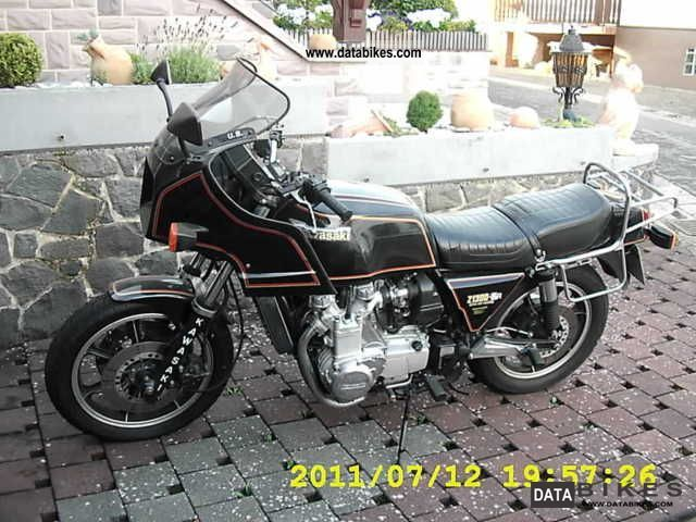 Kawasaki  Z 1300 DFi 1987 Motorcycle photo