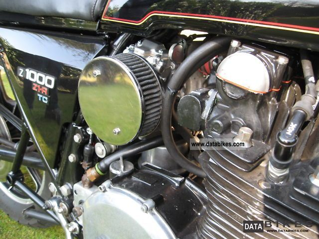 1979 Kawasaki Z1r Turbo