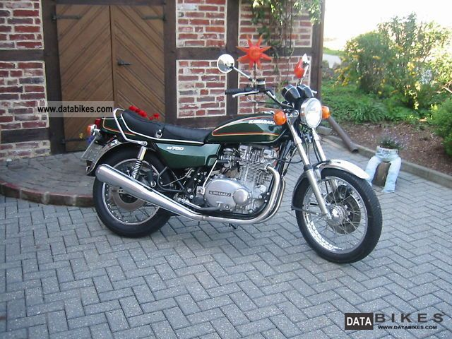 Kawasaki  Z 750 twin B 1978 Vintage, Classic and Old Bikes photo