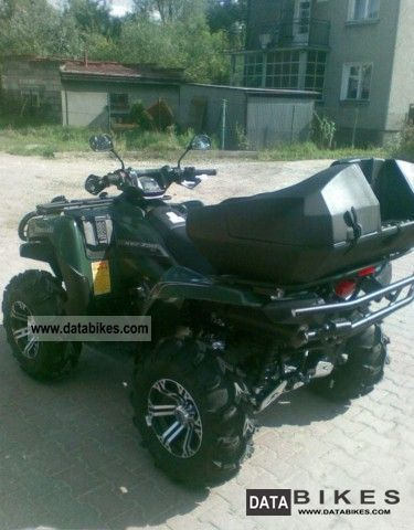 2011 Kawasaki  Brute Force limited edition rejest, gwar, Motorcycle Quad photo