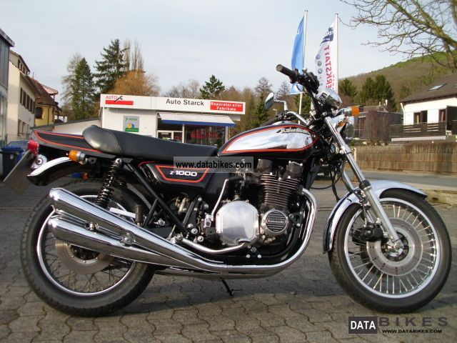 1980 Kawasaki FI Fuel Injection Z 1000-rare U.S. Model