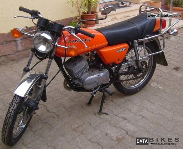 Kawasaki  KH125 1979 Vintage, Classic and Old Bikes photo
