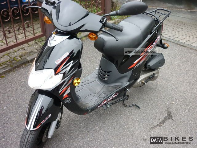 2011 Keeway Swan Moped Scooter 25kmh