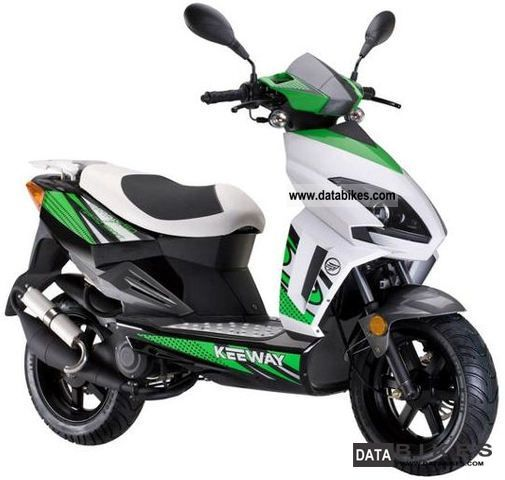 2012 keeway v4 moped version 25 km h