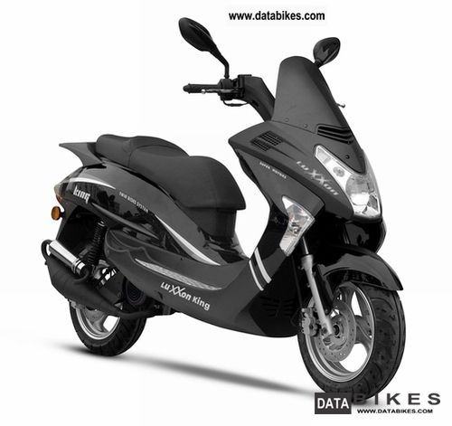2011 Keeway  Luxxon KING 50 Motorcycle Scooter photo