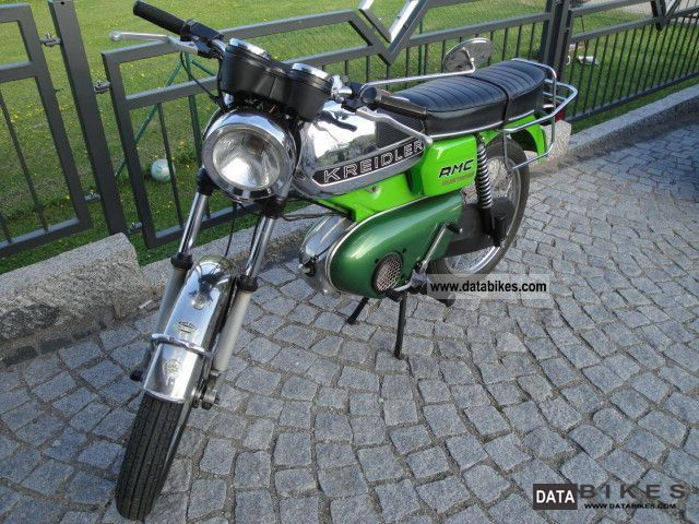 Kreidler  Foil RS moped moped moped motorcycle 1968 Vintage, Classic and Old Bikes photo