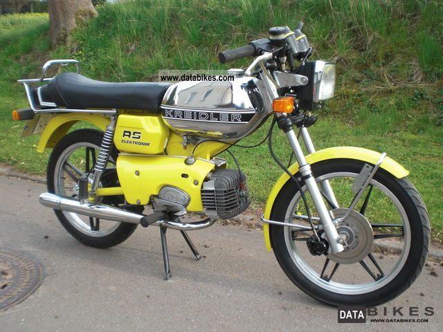 1980 Kreidler  K54/421 RS Motorcycle Lightweight Motorcycle/Motorbike photo