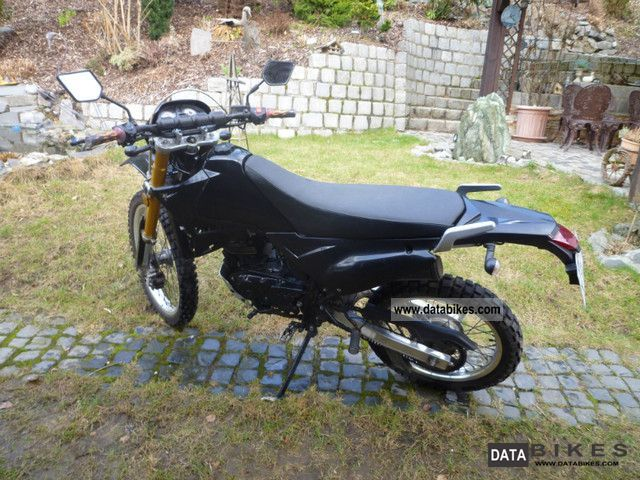 2010 Kreidler  Enduro 125 Motorcycle Motorcycle photo