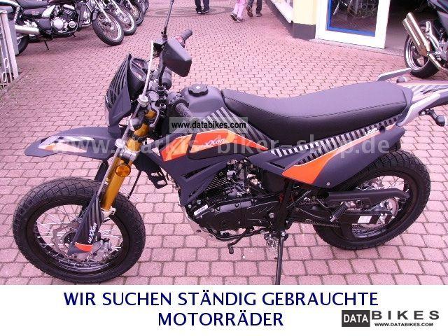 2011 Kreidler  Supermoto 125 LUXXON ----- 2012 ----- Model Motorcycle Super Moto photo
