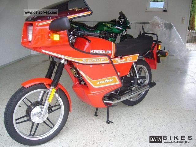 1982 Kreidler  LK 600 Motorcycle Lightweight Motorcycle/Motorbike photo