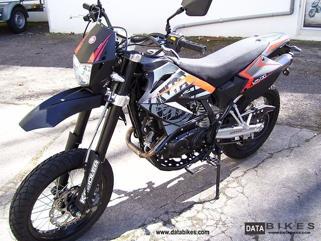 2012 Kreidler  Supermoto 125 80km / h Motorcycle Super Moto photo