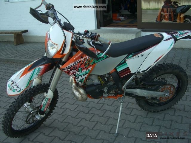 2010 KTM  300 EXC Six Days Rekluse Motorcycle Rally/Cross photo