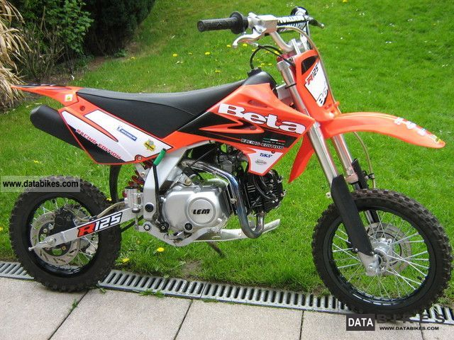 2009 ktm beta r 125 children cross when new no ktm. Black Bedroom Furniture Sets. Home Design Ideas
