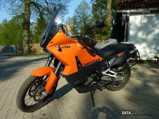 2007 KTM  Adventure 990 EFI with Akrapovic exhaust system Motorcycle Enduro/Touring Enduro photo
