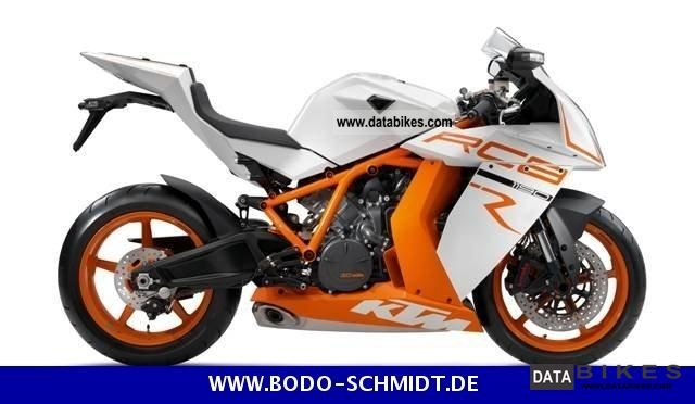 2011 KTM  White 2011 RC8 R Motorcycle Sports/Super Sports Bike photo