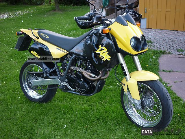 1997 KTM  Duke Motorcycle Super Moto photo