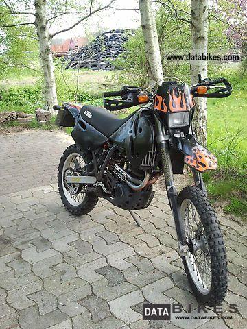 1997 KTM  GS 620 RD + accessories Motorcycle Enduro/Touring Enduro photo