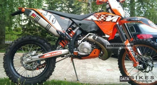 2009 KTM  300 EXC (no 125,200,250,350,450,530) Motorcycle Enduro/Touring Enduro photo
