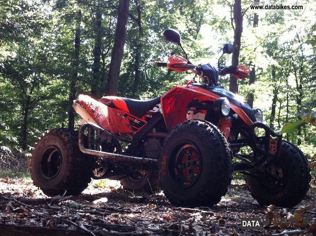 2011 KTM  XC 525 with newly overhauled engine LOF approval Motorcycle Quad photo