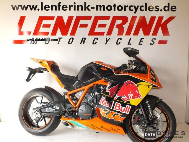 KTM  RC8 Red Bull Limited Edt. No. 92 2011 Sports/Super Sports Bike photo