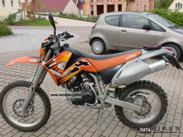 1999 ktm 620 lc4 super competition