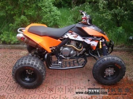 2011 KTM  XC 525 LOF Motorcycle Quad photo
