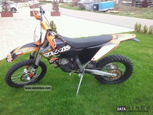2009 KTM  125 EXC Six Days Motorcycle Enduro/Touring Enduro photo