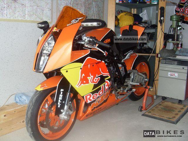 2009 KTM  1190 RC8 Motorcycle Sports/Super Sports Bike photo