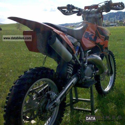2004 KTM  125 EXC Motorcycle Enduro/Touring Enduro photo