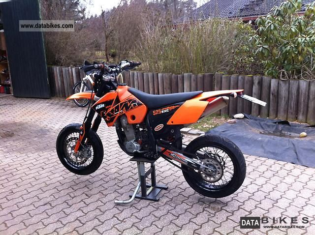 2007 KTM  exc 525 Motorcycle Super Moto photo