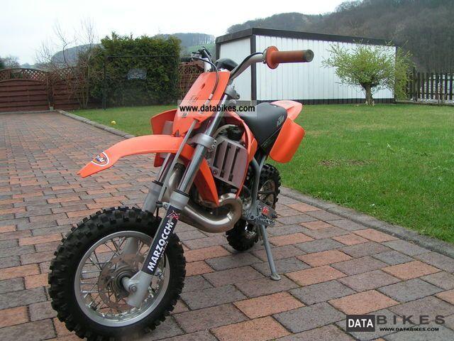 KTM  SX 50 Junior LC 2003 Dirt Bike photo