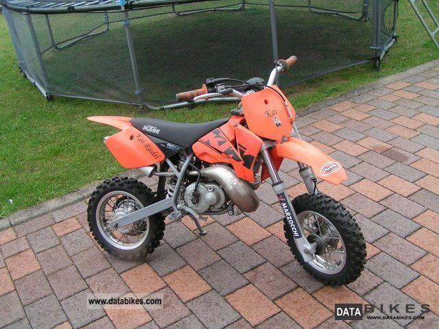2003 Ktm Sx 50 Junior Lc