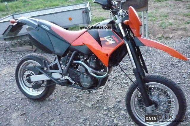 KTM  LC640 1999 Super Moto photo