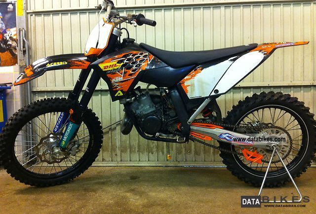 2007 KTM  125 SX Motorcycle Rally/Cross photo
