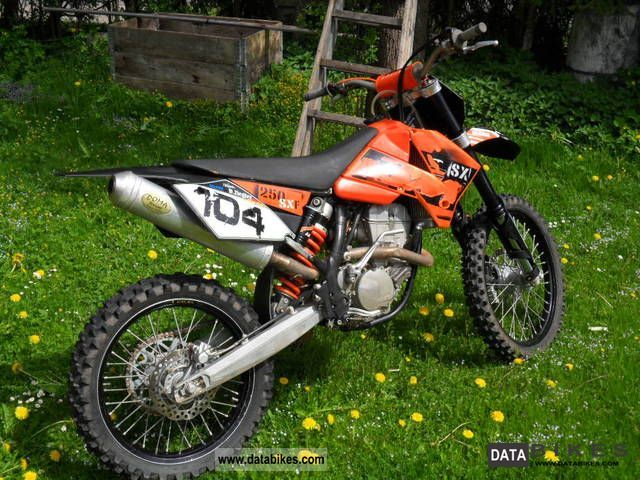 2006 KTM  250 SXF SX-F Top Look Motorcycle Rally/Cross photo