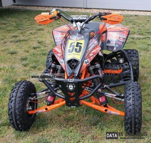 2010 KTM  505SX Motorcycle Quad photo