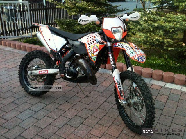 2010 KTM  Exc 125 Motorcycle Enduro/Touring Enduro photo