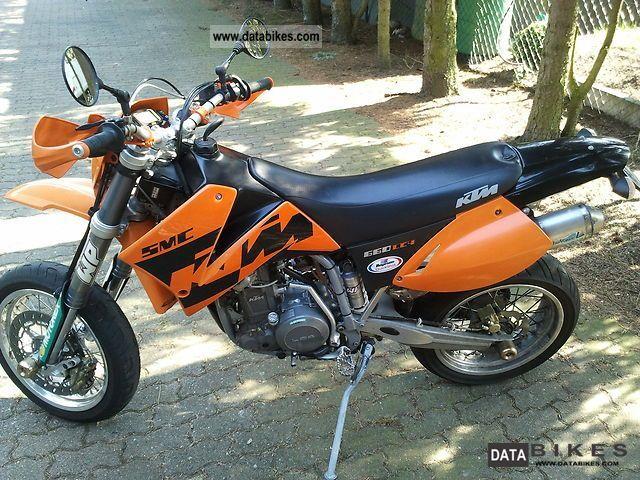 2007 Ktm Smc 660 Lc4