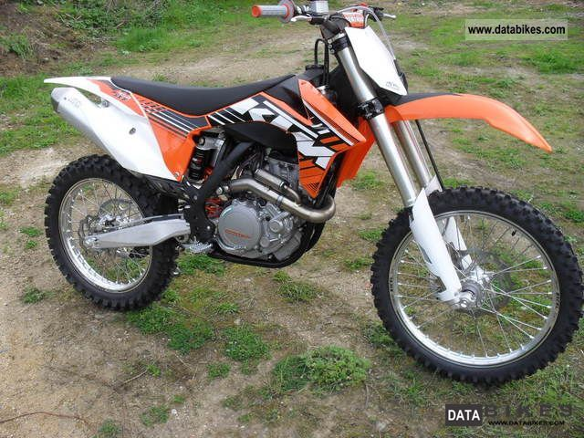 2012 KTM  sxf 450 Motorcycle Enduro/Touring Enduro photo
