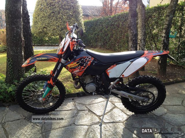 2007 KTM  EXC enduro - anno 2007 Motorcycle Enduro/Touring Enduro photo
