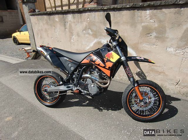 2007 KTM  625 SMC Motorcycle Super Moto photo