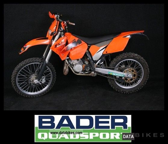 2004 KTM  200 EXC + ** IN ** neat condition Motorcycle Enduro/Touring Enduro photo