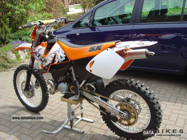 2000 KTM  EXC 250 Motorcycle Motorcycle photo