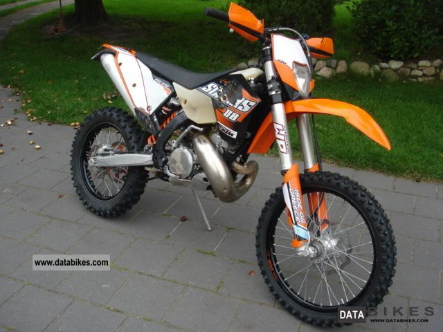 2009 KTM  250 EXC Motorcycle Enduro/Touring Enduro photo