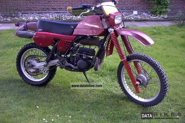 1980 KTM  250 GS / 6 bastler vehicle Motorcycle Enduro/Touring Enduro photo