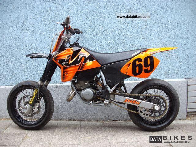 1998 Ktm Sx 125 Supermoto