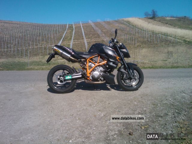 2007 KTM  Super Duke R Motorcycle Naked Bike photo