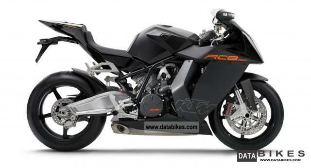 2011 KTM  1190 RC 8 black model 2010 \ Motorcycle Sports/Super Sports Bike photo