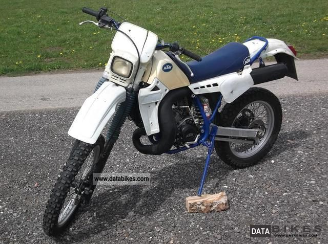 1986 KTM  GS 250 ED hobbyist vehicle Motorcycle Enduro/Touring Enduro photo