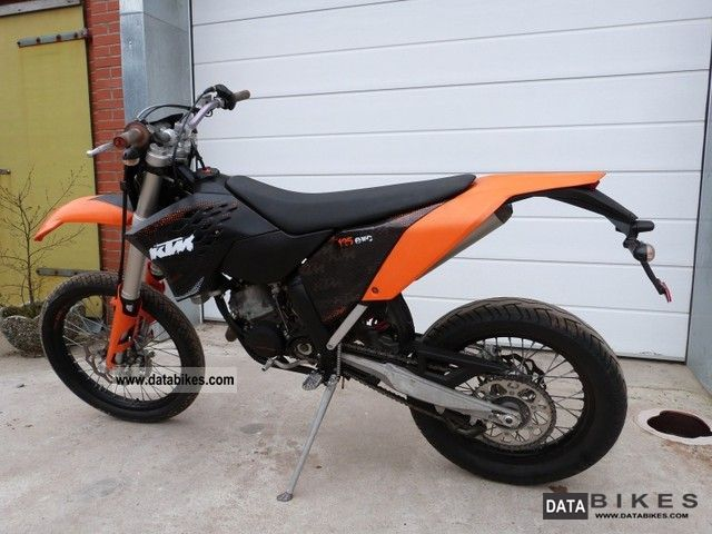 2008 KTM  125 EXC Motorcycle Motorcycle photo